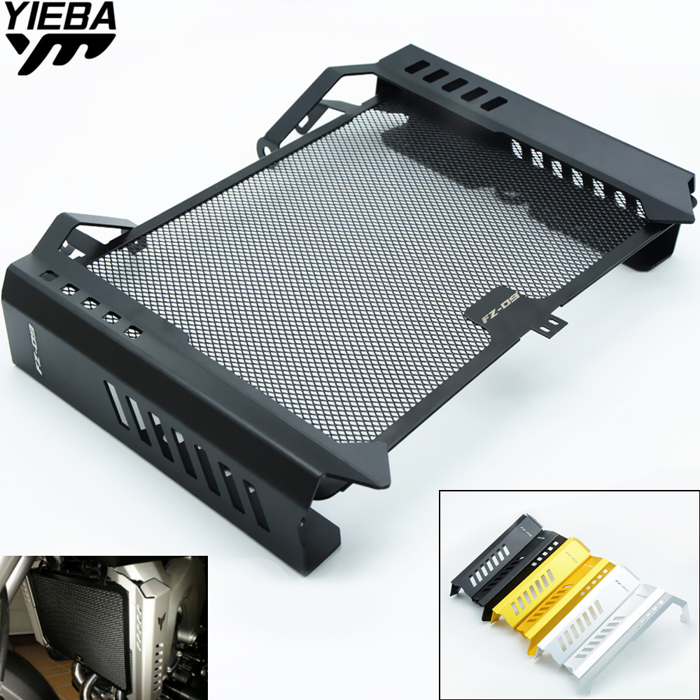 Motorcycle Accessories Radiator Guard Protector Grille Grill Cover LOGO for YAMAHA MT09 MT-09 MT 09 FZ09 FZ-09 FZ 09 2014 2015 arashi 1 pair air intake inlet guard cover protector for yamaha mt 09 mt09 fz 09 2014 2015 2016 5 colors