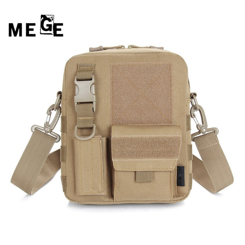 MEGE outdoor hiking hunting camping bag unisex messenger edc bag equipment tentera accessories camouflage sports shoulder bag