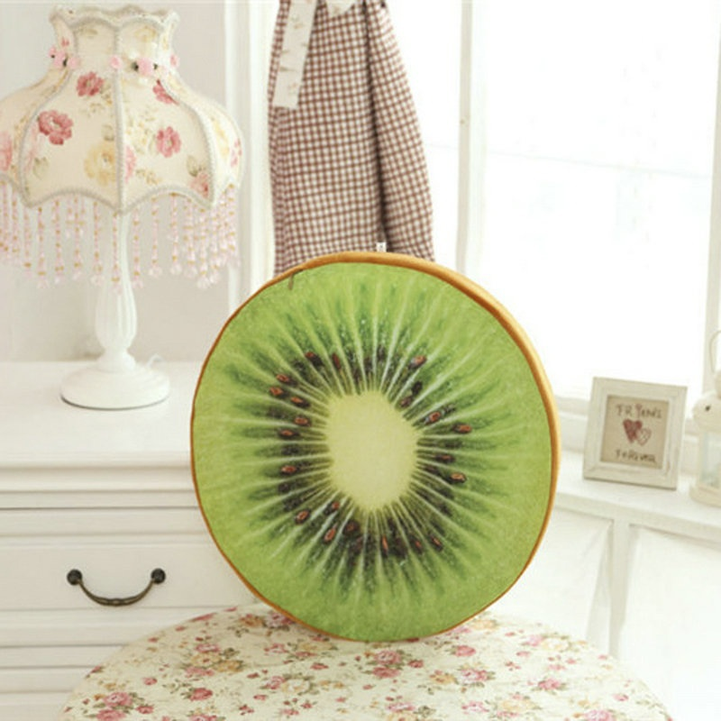 Shade Creative 3d Fruit Pp Cotton Pillow Office Chair Back Cushions Sofa Throw Pillows Home Decorative Pillows Almofadas Reasonable Price