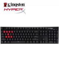 Kingston HyperX сплава вишня Механическая игровая клавиатура Cherry MX Синий Коричневый Красный профессионального геймера клавиатура ck104 для компьют
