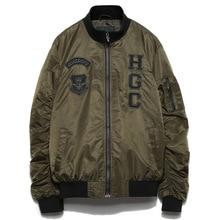 Quality Male Baseball Coats Clothing Aviator Pilot Air Men Flight Bomber Jacket Streetwear Casual Army Green Military Motorcycle цена 2017