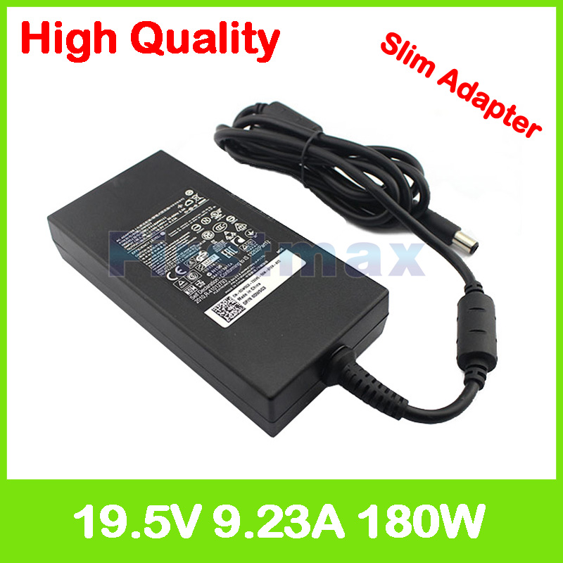 19 5V 9 23A 180W laptop charger adapter for Dell Inspiron 15 7577 Alienware  13 R3 P81G001 15 R2 R3 Precision 7520 DA180PM111