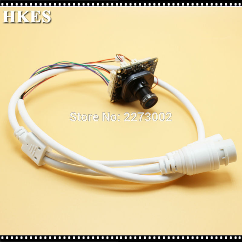 bilder für HKES CCTV IP Kamera modul mit 2,8mm Objektiv konzentriert und IR-CUT 2.0MP 1080 p 1920*1080 Freies Schiff