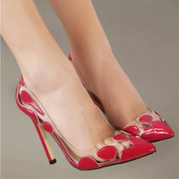 2015 Top Selling 4 9 Lady S Big Size 4 To 9 Sexy Elegant High Heeled