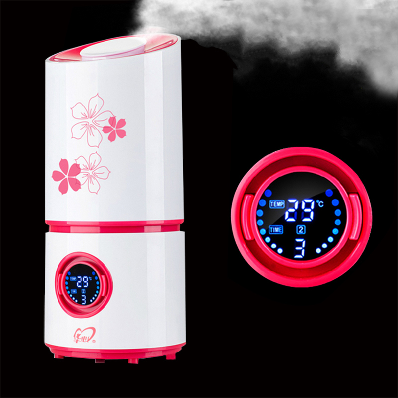 все цены на  Styling High Quality Car Humidifiers Nebulizer Ultrasonic Humidifier Mute Home Air Sterilization Oxygen Bar Free shipping  онлайн