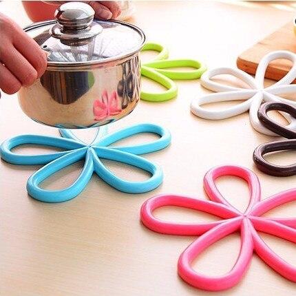 New Arrival Home Table Cup Mat Creative Decor Plum flower Coasters Non-slip Heat Resistant Mat Coaster Cushion Placemat Pot