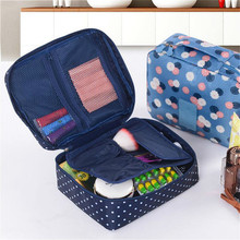 Portable Travel Wash Bag For Womens Waterproof Cosmetic Household Goods Storage Makeup