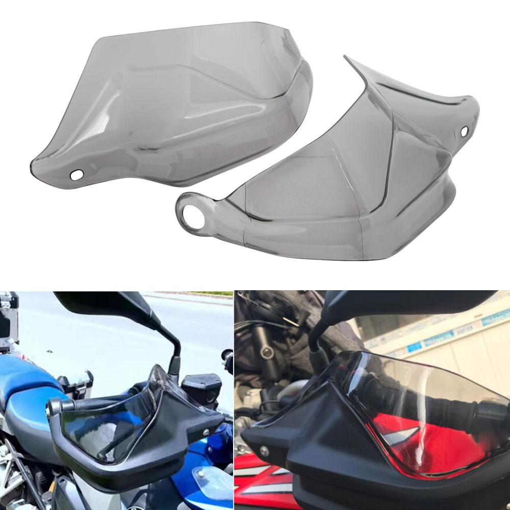 For BMW R 1200 GS ADV F800 GS Adventure S1000XR Handguard Hand Shield Protector Windshield Black 2013 2014 2015 2016 2017 2018 (5)