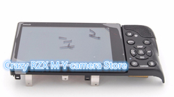 Piezas de reparación para Samsung NX300 cubierta trasera Assy con pantalla LCD botón Flex Cable negro