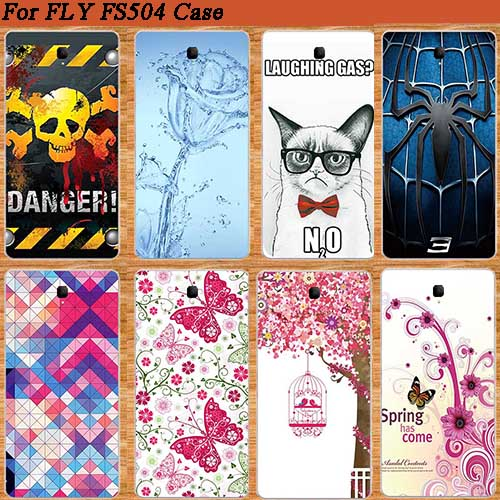 For Fly FS504 Cirrus 2 Cool Cartoon Painting Soft TPU Case Cover New  Pattern Arrival Perfect FOR FLY FS 504 tpu Case Cove d52d5438a9b9