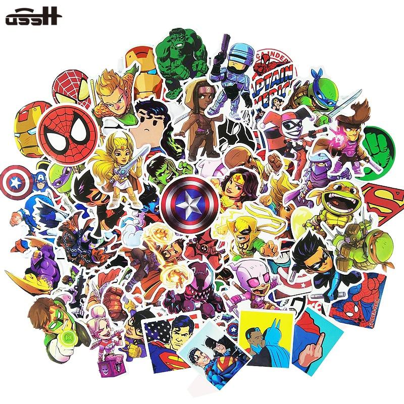 100-pcs-font-b-marvel-b-font-the-avengers-cartoon-sticker-waterproof-for-laptop-moto-skateboard-luggage-guitar-furnitur-decal-toy-stickers