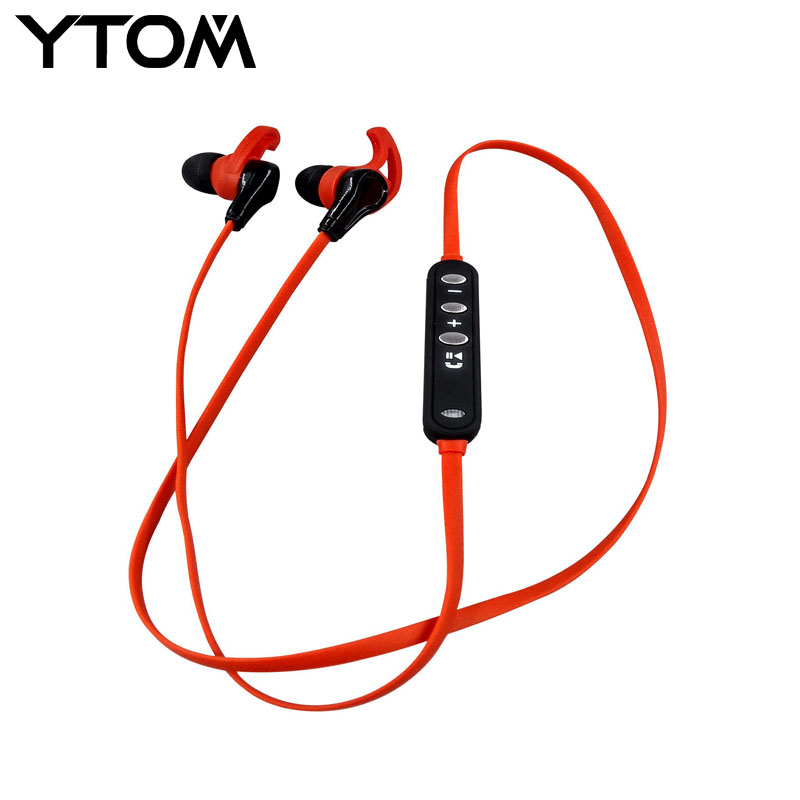YTOM S6 Bluetooth Headset Bluetooth Headphones wireless earphone bass sport running stereo earbuds with microphone auriculares ytom bluetooth headphones earphone wireless headphone with microphone low bass headset earphones for computer phone sport pc mp3