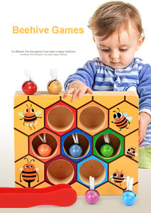 MWZ Wooden Children Games Early Childhood Education Toy