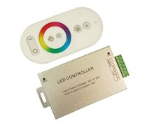 Draadloze RF Magic dreamcolor LED RGB Controller, kleurenwiel ring afstandsbediening, RGB LED strip touch RF controller 24 V/12 V(China)