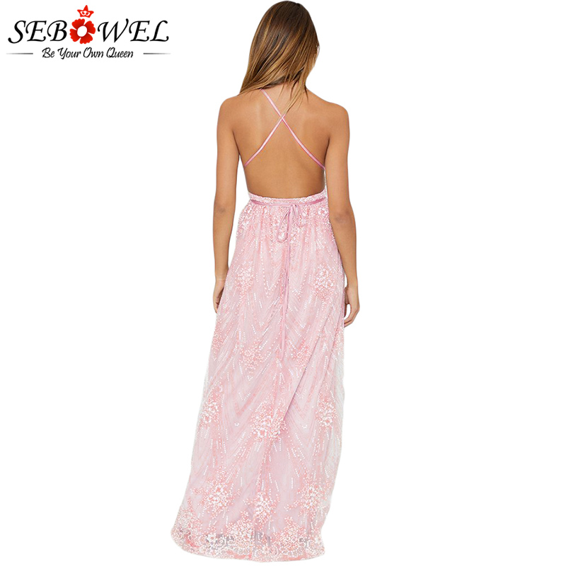 Pink-Daring-Open-Back-Glittering-Party-Dress-LC610534-10-2