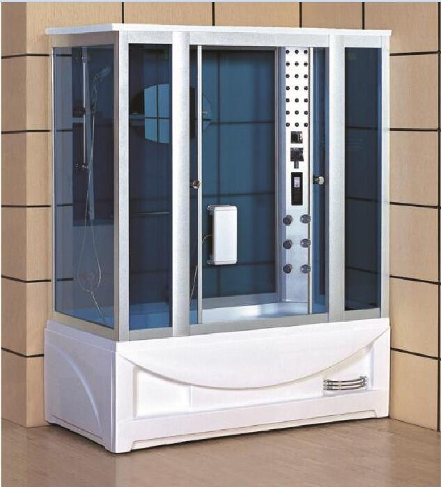 luxury steam shower enclosures bathroom steam shower cabins jetted massage walking-in sauna room RS508 8 shower rooms cabins pulley
