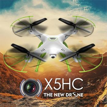 Syma X5HC With 2MP HD Camera 2.4G 4CH 6Axis Altitude Mode RC Quadcopter RTF LED Night light 360 Degree eversion Light Weight