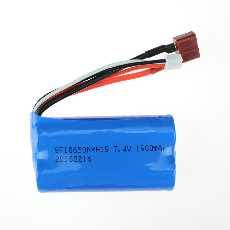1 12 RC Car Spare Parts WL 12423 12428 Battery 7 4V 1500mAh T Plug