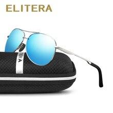 ELITERA HD Sunglasses Mens Brand Design Sun glasses Vintage