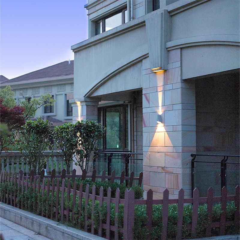 Настенный светильник Итальянский Алюминий Водонепроницаемый дверной светодиодный светильник простой современный открытый внутренний двор eclairage exterieur Спальня Коридор бра