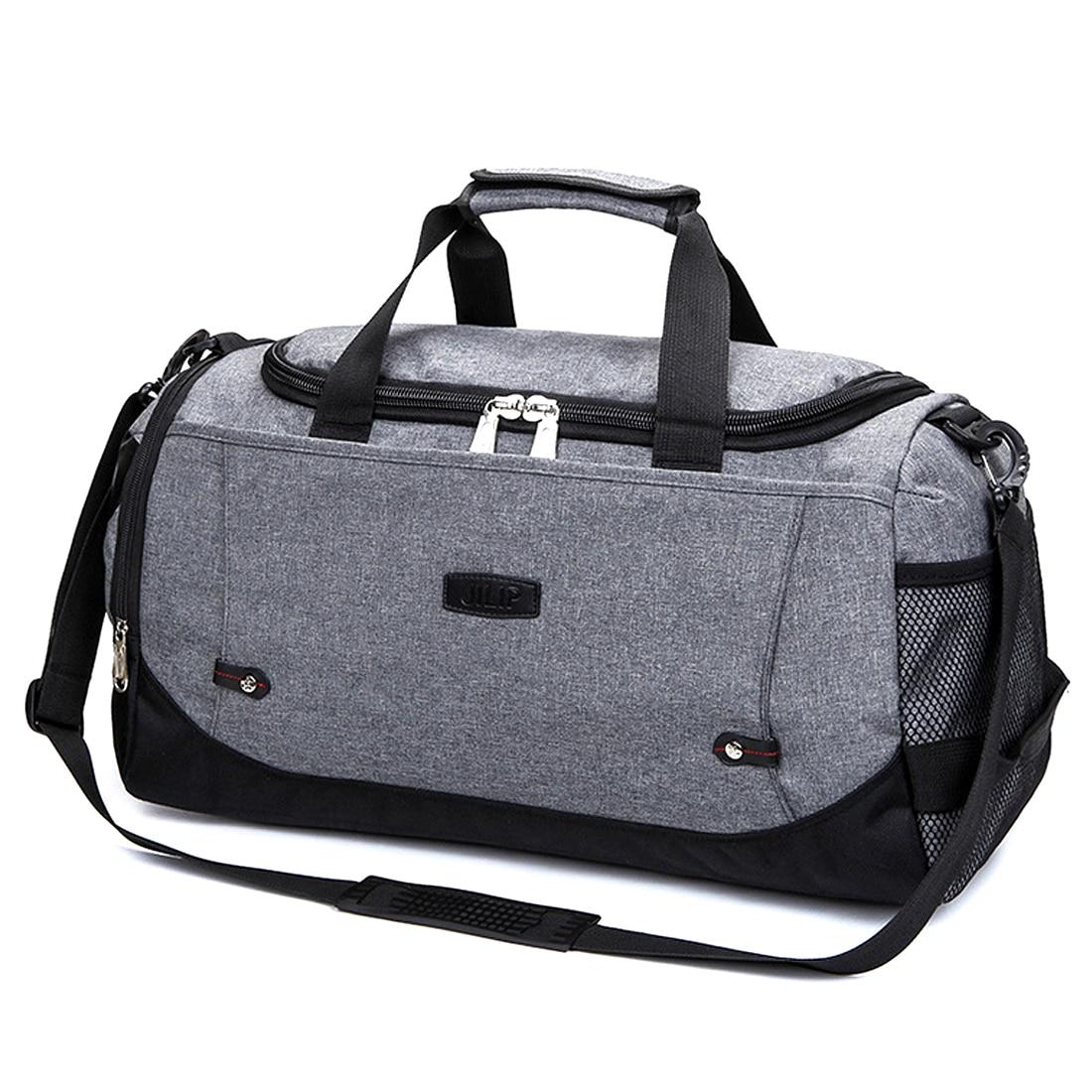 HIPSTEEN Brand Man Travel Bags Big Capacity Polyester Male Handbag Business Trip Single Shoulder Cross Body Travel Bag Hot Sale