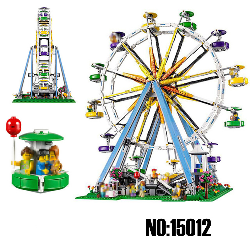 Lepin Diy The Expert Ferris Wheel Creator Series Set Building Blocks Bricks Toys For Children Compatible with Legoingly 10247 808pcs diy new girls series the friendship house set building blocks bricks friends toys for children compatible legoingly 41340