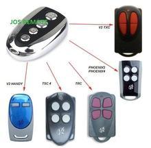 Aftermarket V2 garage door remote ,V2 transmitter ,V2 radio control ,V2 rolling door remote repacement Rolling code 433.92MHZ