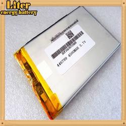 446799 4565100 New 4500mah Li-ion bateria Tablet pc Para tablet PC 3.7V Bateria lithiumion Polímero de Alta Qualidade