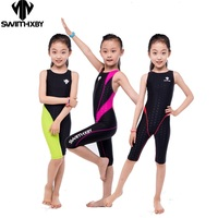 HXBY Professional Competition Kids Swimsuit For Girls Swimwear Women One Piece Bathing Suit Women's Swimsuits Swimming Suit