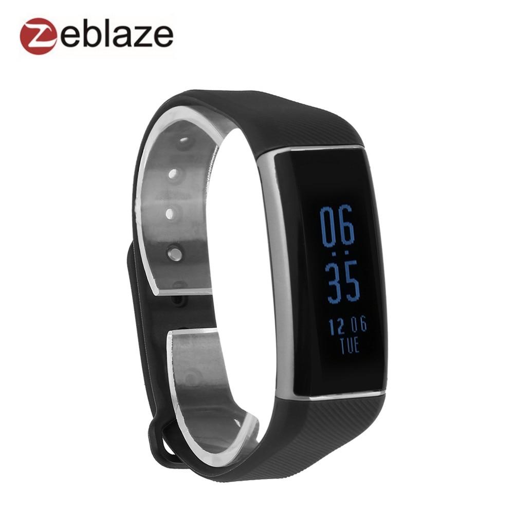 Zeblaze ZeBand Plus Bluetooth 4 0 Smart Wristbands Heart Rate Monitor bracelet IP67 Swim Sleep Fitness