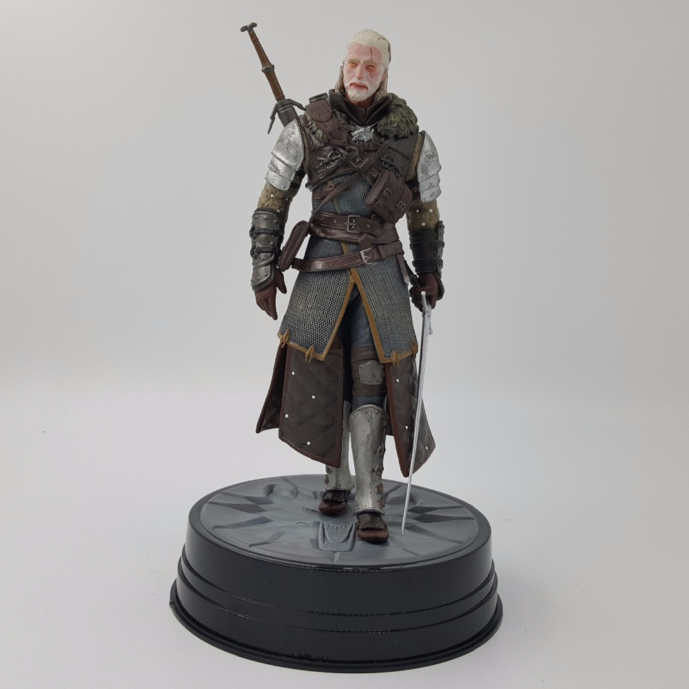 Wild Hunt Geralt Grandmaster Ursine The Witcher 3 Geralt of Rivia Figure Toy