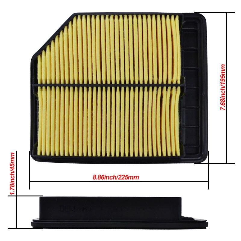 Car Engine Air Filter For Honda Civic 2006-2011 1.8L 17220-RNA-Y00 FA1 R18A1