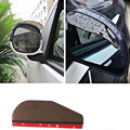 1PCS Car Rear View Mirror Weatherstrip Flexible Rear View Mirror Anti Rain Guard Shade Auto Rain Eyebrow BHU2 Auto Accessories