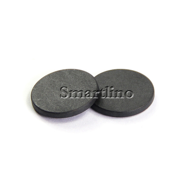 2100Pcs Lot 13 56MHZ RFID Laundry Tag Ntag213 NFC Tag PPS Waterproof Black Diameter 20mm For