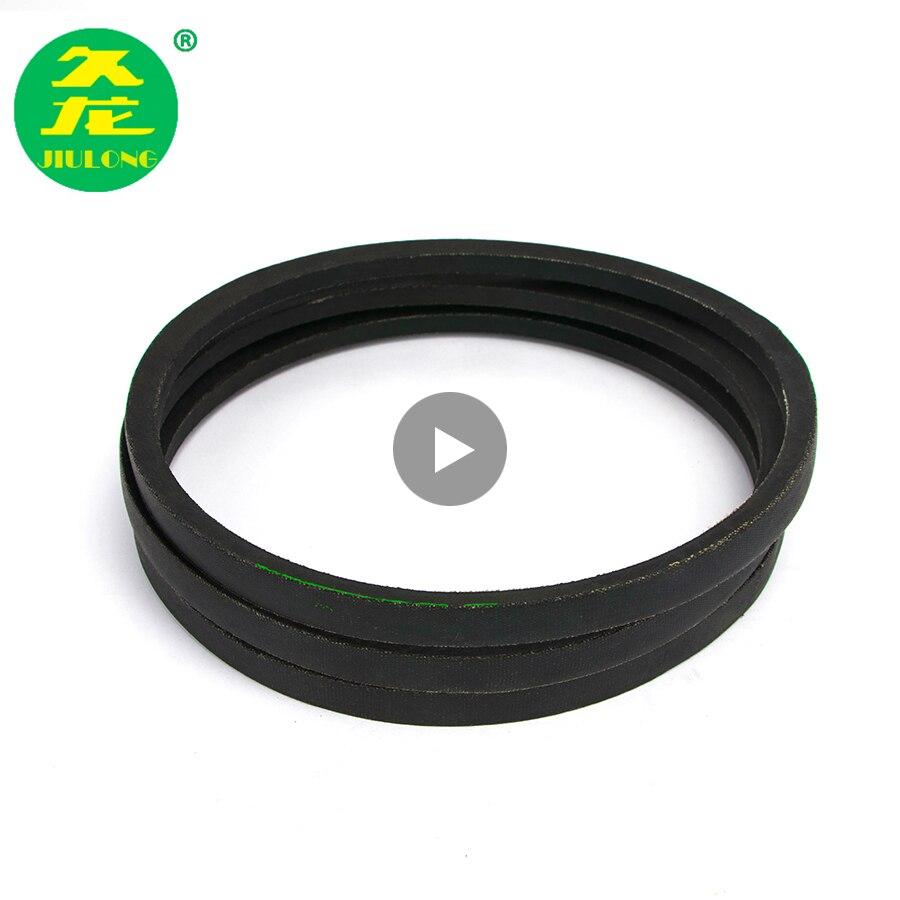 JIULONG V-Belt A Type Black Rubber Drive V Belt A1270/1280/1321/1340/1372/1422/1473/1524/ Inner Girth for Machine TransmissionJIULONG V-Belt A Type Black Rubber Drive V Belt A1270/1280/1321/1340/1372/1422/1473/1524/ Inner Girth for Machine Transmission
