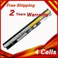 4 ячеек Аккумулятор Для Ноутбука Lenovo L12L4A02 L12L4E01 L12M4A02 L12M4E01 L12S4A02 G400s G405s G410s G505s G510s S410p S510p Z710