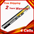 4 células bateria do portátil para lenovo l12l4a02 l12l4e01 l12m4a02 l12m4e01 l12s4a02 g400s g405s g410s g505s g510s s410p s510p z710