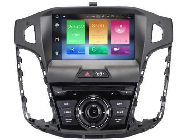4G RAM Octa(8)-Core Android 8.0 CAR DVD player FOR Ford Focus 2012 car audio gps stereo head unit Multimedia navigation