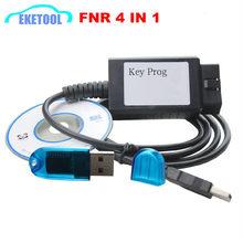 Mới Bán Phím Lập Trình Viên FNR 4 TRONG 1 USB Dongle Xe Lập Trình Cho FD/RE/NIS FNR Chìa Khóa PROG 4 TRONG 1 Bởi Trống Chìa Khóa
