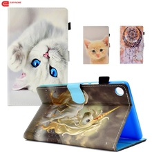Case For Huawei MediaPad M5 8.4 inch Case SHT-W09 SHT-AL09 Cartoon Wallet PU Leather Stand Smart Cover For Huawei M5 8.4 Case tablet case for huawei mediapad m5 8 4 inch sht al09 sht w09 pu leather protective smart cover for huawei mediapad m5 8 4 case