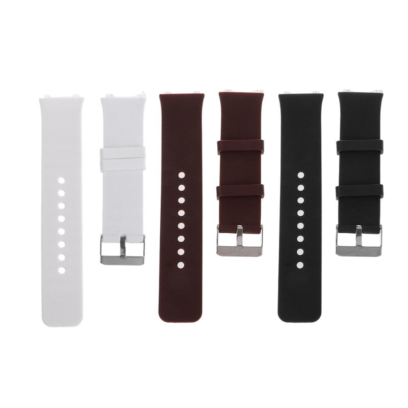 Wrist Watch Band Strap Silicone Metal Buckle Replacement Bracelet For DZ09 Smartwatch