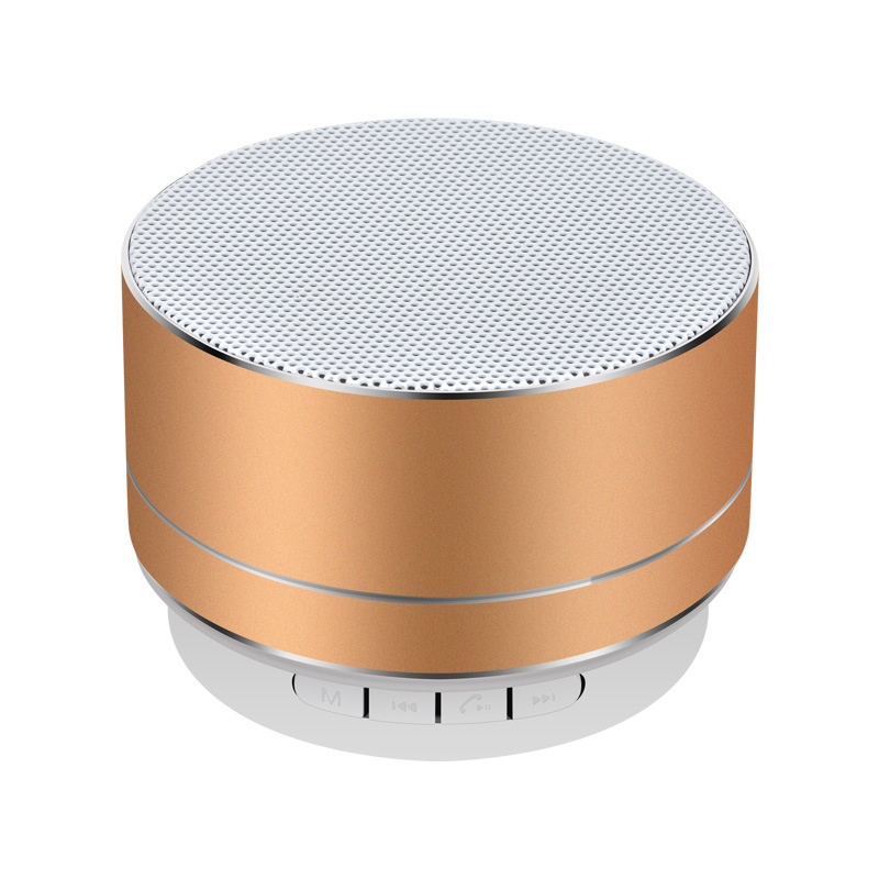 A10 Wireless Bluetooth Speaker Mini Portable Subwoof Sound With Mic TF Card FM Radio AUX MP3 Music Play Loudspeaker