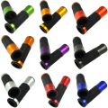 "SL-282 Universal 7/8"" Motorcycle Aluminium Rubber Handlebar Hand Grips Motorbike handlebar grip handle bar 10 color to Choice"
