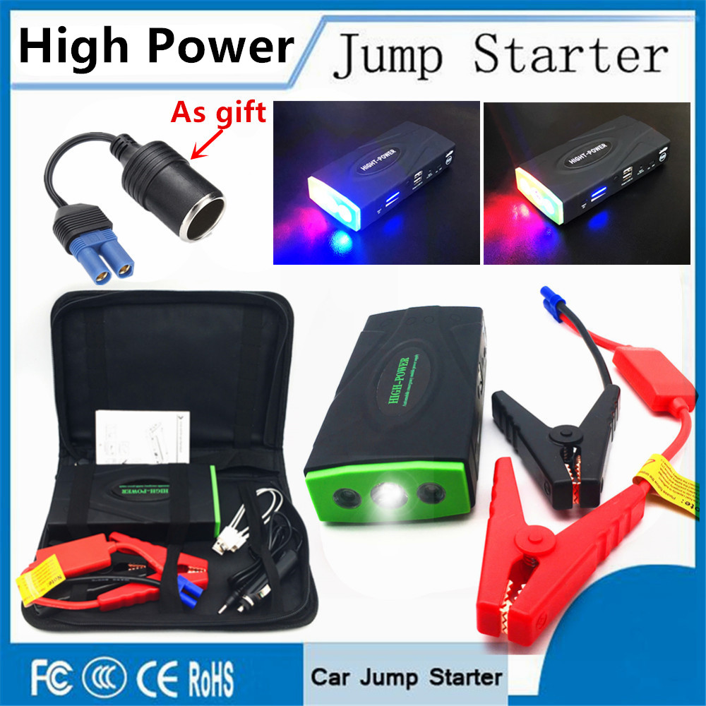 Multi-Funktion Auto Starthilfe 12 v 600 Notfall Start Gerät Power Bank Auto Ladegerät Für Auto Batterie Booster benzin Diesel