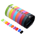 XCSOURCE 10pcs Colorful Replacement Wristband with Metal Clasps for Fitbit Flex (No Tracker, Replacement Bands Only) TH435-TH436