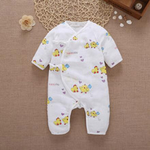 FOR 0-12M Artistic child cotton onesies child belt romper cute cartoon colourful cotton garments for child infants