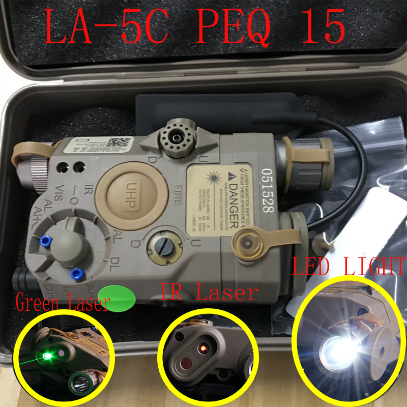 Element EX 419 LA 5C AN PEQ UHP Appearance Green Laser and flashlight For hunting Two