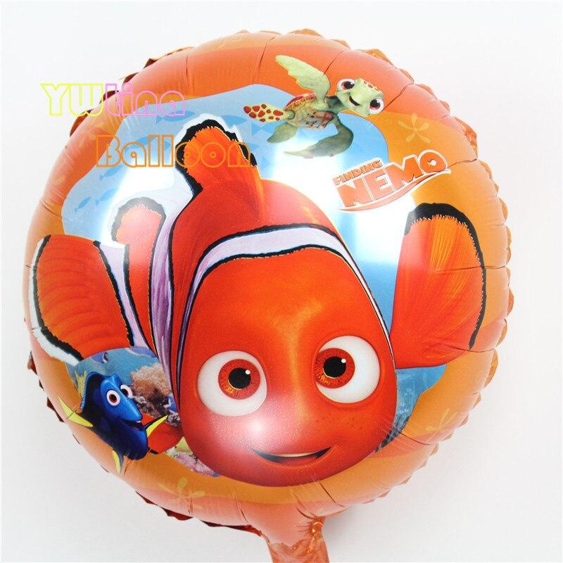 45 45cm foil balloons lovely finding nemo clownfish for Clown fish price
