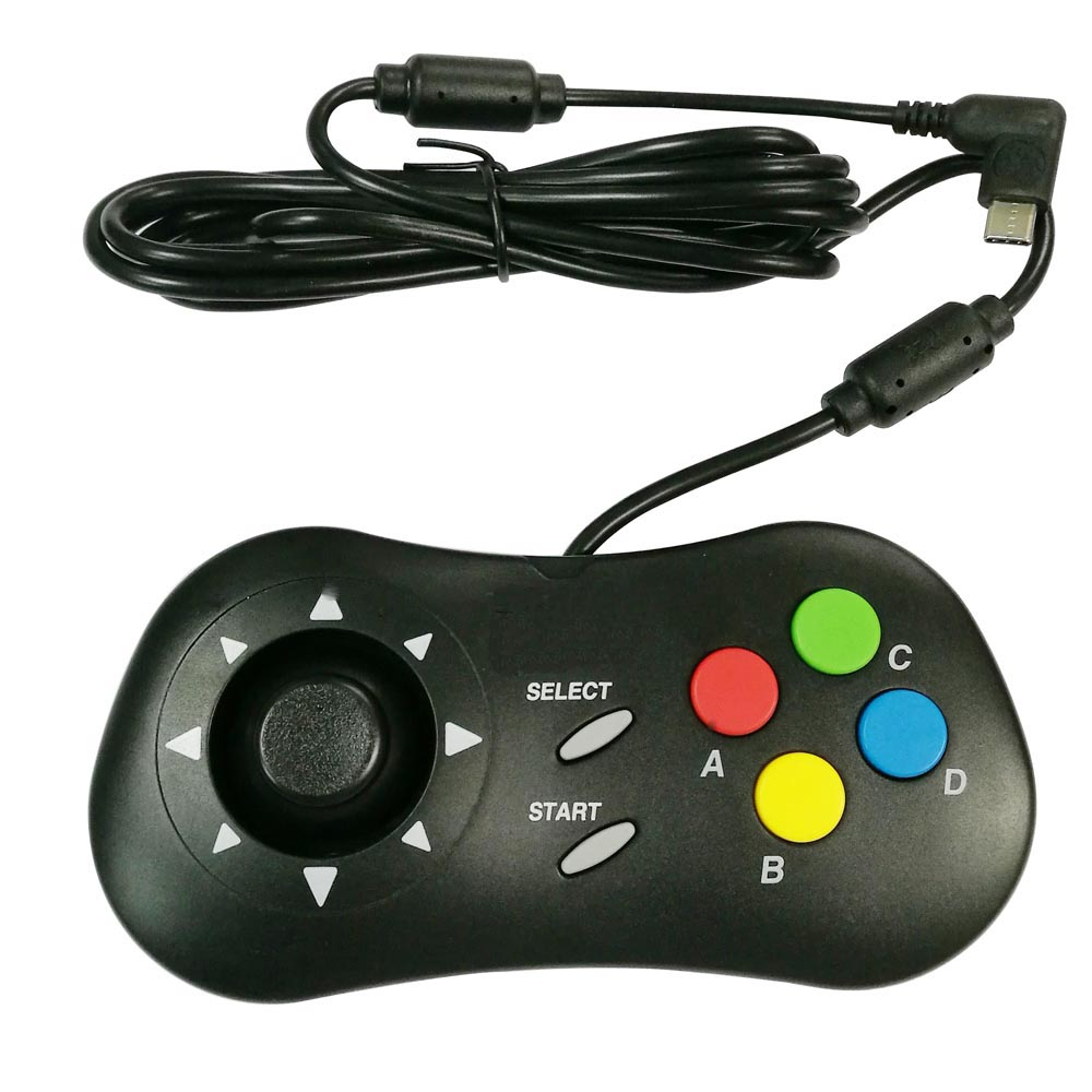 2pcs Retro ARCADE Mini Video Game pad Game controller Handheld for N E O GEO for