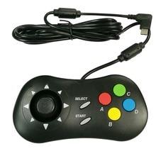 2 قطعة ممر الرجعية لوحة صغيرة لعبة فيديو أذرع التحكم في ألعاب الفيديو المحمولة ل نيوتجيو ل SNK لعبة وحدة التحكم